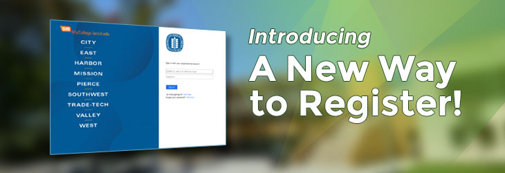 Introducing a new way to register
