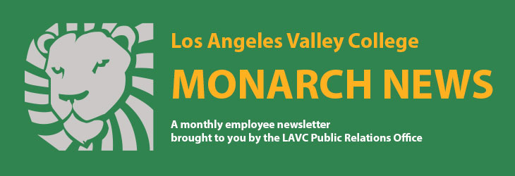 LAVC Monarch News masthead