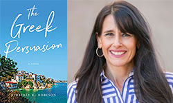 The Greek Persuasion Cover and Kimberly Robeson