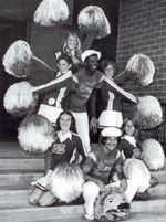 LAVC Cheerleaders in 1970s