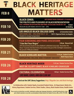 "Black Heritage Matters: ""Cultural Celebration"""