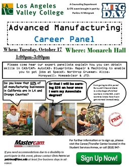 Advanced Manufacturing Career Panel