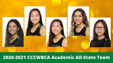 2020-2021 CCCWBCA Academic All-State Team