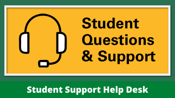 Student Questions & Support