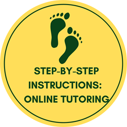 step-by-step instructions: Online tutoring