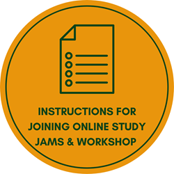 Instructions for joining online study Jams and workshops