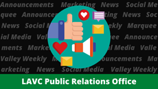 Share Your Good News with the LAVC PR Office