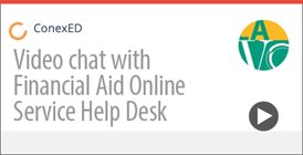 Video chat with LAVC Financial Aid Office