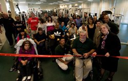 Ribbon cutting for Adapted Physical Education Center