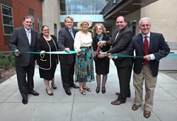 Ribbon cutting for the Library & Academic Resource Center