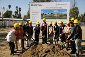 Groundbreaking of the Library