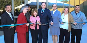 Ribbon Cutting for Student Services Dedication
