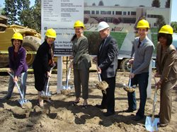 Groundbreaking for Student Services Complex