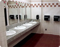 Image of inside of restroom