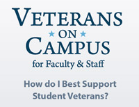 Veterans Training for Faculty logo