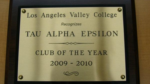Club of the Year '09 - '10